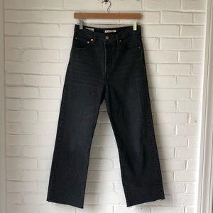 Levi's ribcage straight leg jeans